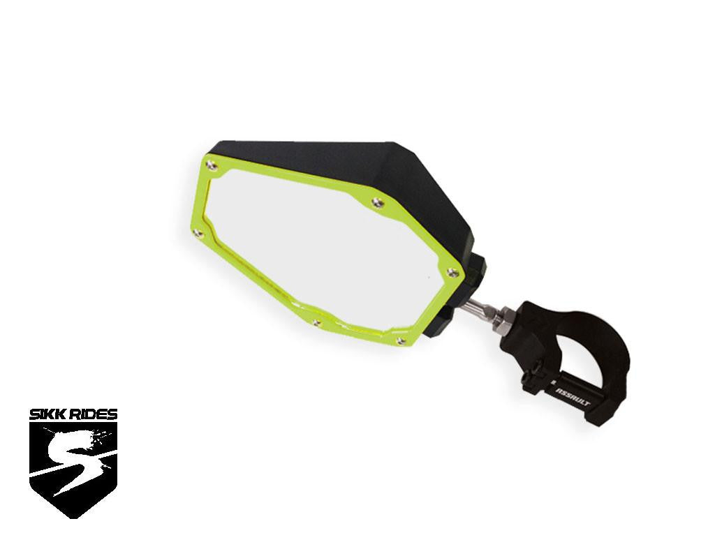 BOMBER SERIES SIDE MIRRORS - ASSAULT INDUSTRIES - SIKK RIDES.COM