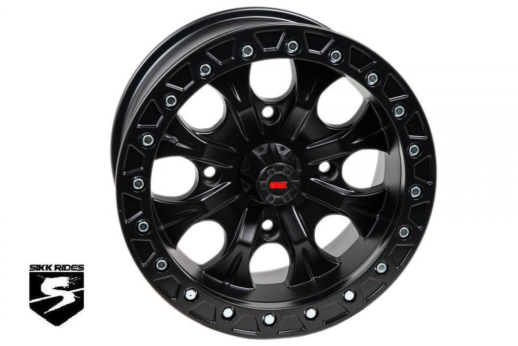 "15"" GUNSLINGER BEADLOCK WHEEL - GMZ RACE PRODUCTS - SIKK RIDES.COM"