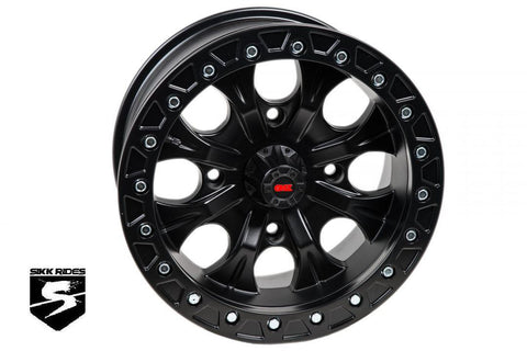 "15"" GUNSLINGER BEADLOCK WHEEL - GMZ RACE PRODUCTS"
