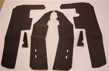 XP 900 / XP4 900 MUD FLAP FENDER EXTENSIONS - TRAIL ARMOR