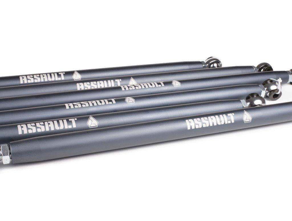 CAN-AM X3 BARREL STYLE HD RADIUS RODS - ASSAULT INDUSTRIES - SIKK RIDES.COM