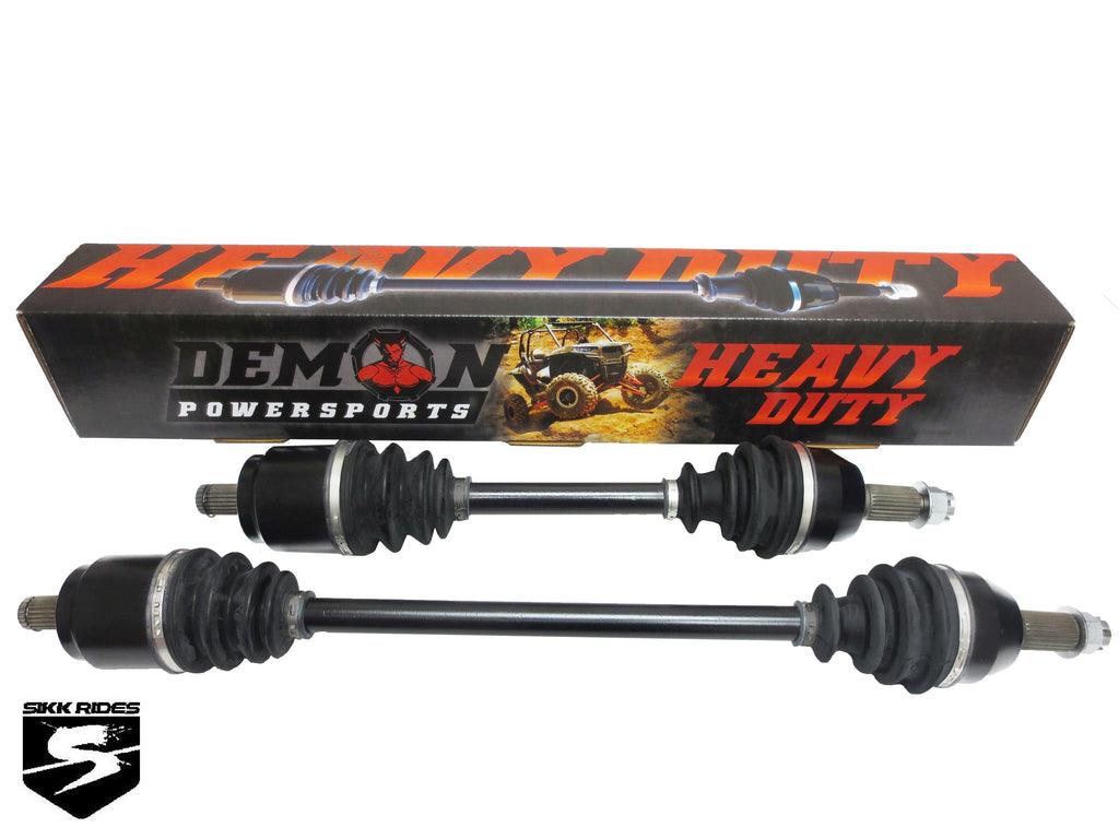 "60"" RZR 1000s HEAVY DUTY AXLE - DEMON POWERSPORTS - SIKK RIDES.COM"