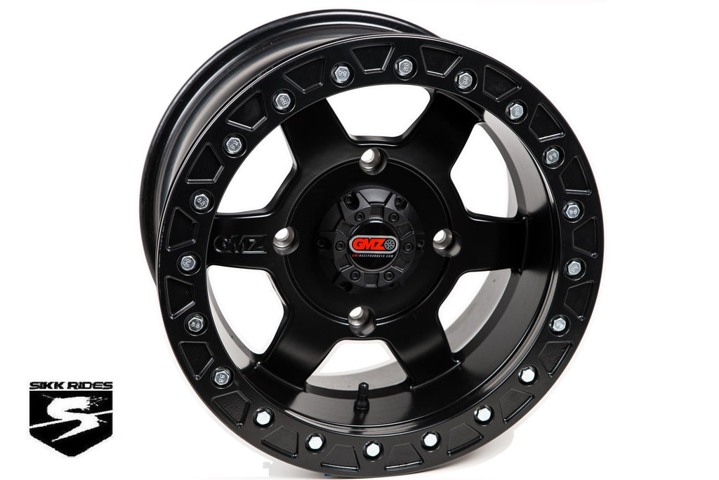 "15"" CASINO BEADLOCK WHEEL - GMZ RACE PRODUCTS - SIKK RIDES.COM"