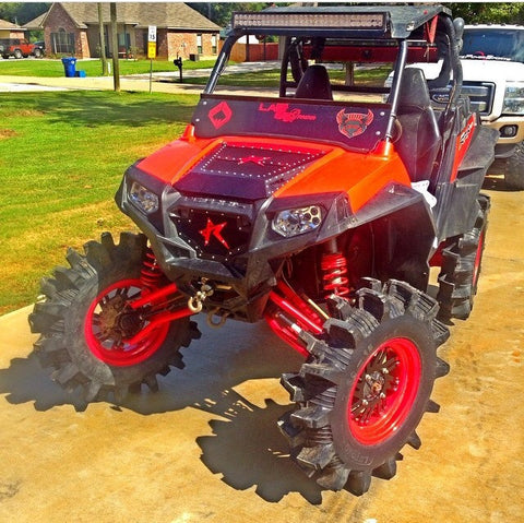 POLARIS RZR 570 / 800 / XP 900 HOOD / GRILL COMBO - ROGUE OFFROAD
