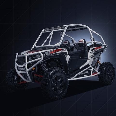 POLARIS XP 1000 RACE CAGE / INTEGRATED BED BRACES AND REAR BUMPER - HOUSER RACING