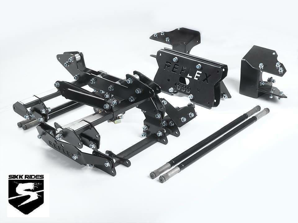 "XP / XP4 TURBO 1000 BOLT ON +8"" SUSPENSION KIT - REFLEX BEYOND EXTREME - SIKK RIDES.COM"