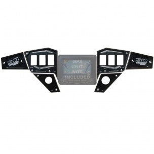 POLARIS XP 1000 / 900S DASH PANEL DIGITAL GPS 6 PIECE- 50 CAL RACING - SIKK RIDES.COM