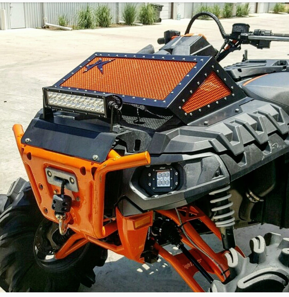 POLARIS SPORTSMAN HIGHLIFTER EDITION 850/1000 RADIATOR COVER - ROGUE OFFROAD - SIKK RIDES.COM