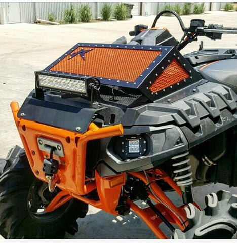 POLARIS SPORTSMAN HIGHLIFTER EDITION 850/1000 RADIATOR COVER - ROGUE OFFROAD