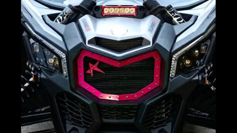 CAN-AM X3 MESH GRILL - ROGUE OFFROAD
