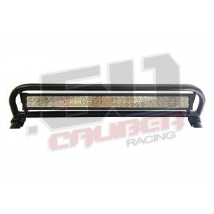 XP1000 POLARIS RZR ROLL CAGE RADIUS LIGHT BAR RACK COMBO WITH 30 INCH LED LIGHT BAR - 50 CAL RACING