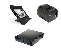 Shopify Slide iPad hardware bundle with Star printer and cash drawer