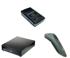 Vend Hardware bundle with Star mobile printer, cash drawer and Socket Mobile scanner