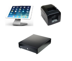 Vend Maclocks iPad hardware bundle with Star TSP650 bluetooth printer and cash drawer