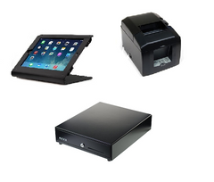 Vend Edge iPad hardware bundle with Star TSP650 bluetooth printer and cash drawer