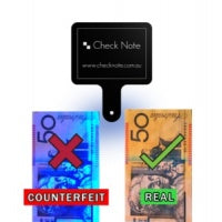 Check Note Counterfeit Detection Device