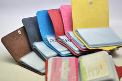 Multiple sets of mini-card credit card business card sleeve Card Holder portable version Max number of 18