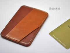 Card Sleeve Left side Multi color mixing design