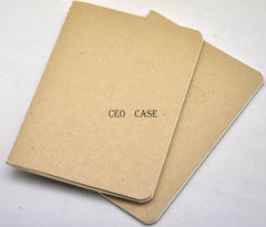 Kraft Paper Notebook Number of 32 Pages Fashionable Electronic Accessories