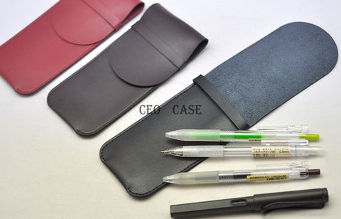 Lamy Montblanc, Parker, Mei Ling, Hero and More Ultra Fiber Max 4-pen Case Sleeve Bag Pouch