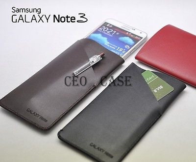 Samsung Galaxy Note 4  with Pocket Pouch Protect Case Sleeve bag