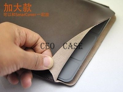 Apple Ipad Air can fit smart cover Pouch Protect Case Very Slim&Light Sleeve Bag