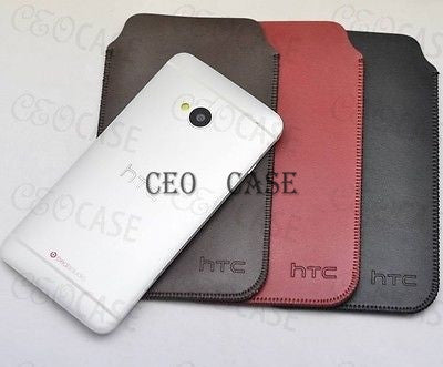 New HTC one M7 Pouch Protect Case (very Slim and Light) Sleeve bag