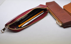 Pen Pouch Pencil case Storage zipper bag (8*2.2*0.8 inch)