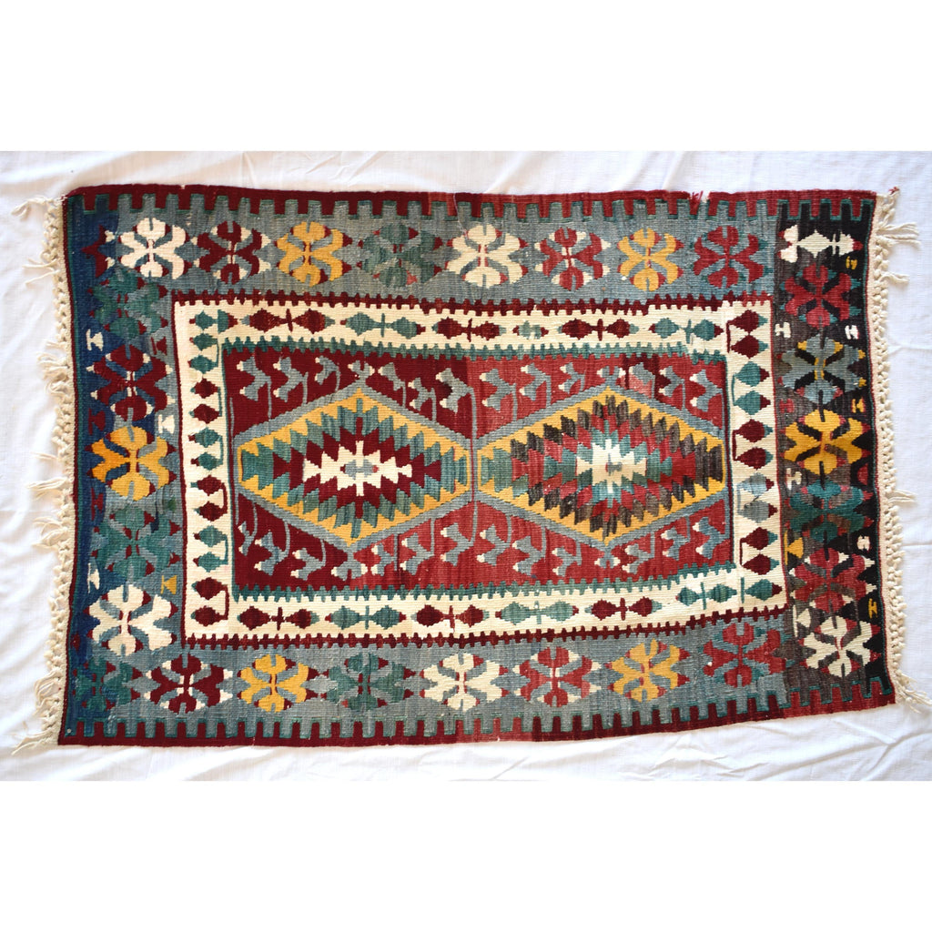 Turkish kilim carpet-002 - Mandara bags