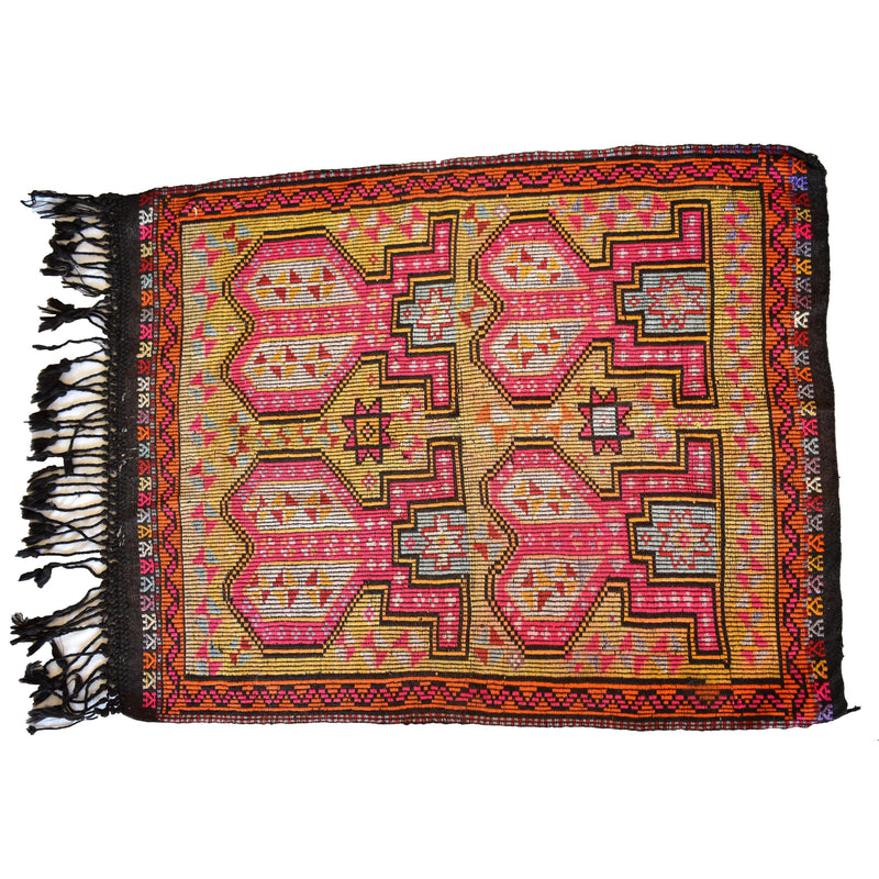 Turkish kilim carpet-003 - Mandara bags