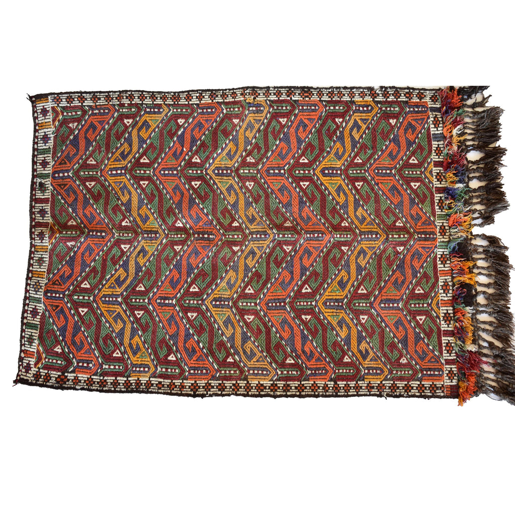 Vintage Turkish kilim carpet- 001 - Mandara bags
