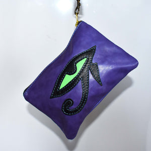 Eye of Horus zip pouch- 002 - Mandara bags