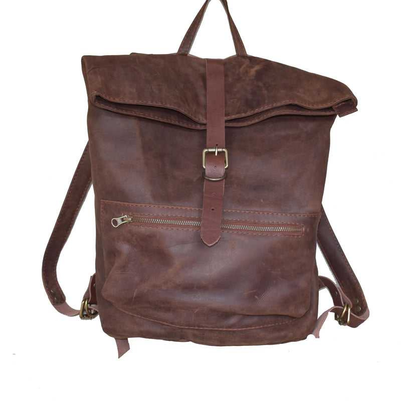 Jones Fold top backpack - Mandara bags