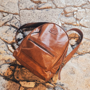 The Berlin backpack- Denim - Mandara bags
