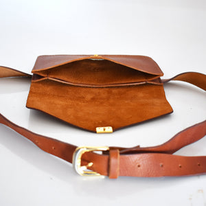 Katie Belt bag- Tan - Mandara bags