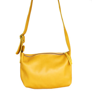 Charlotte cross body bag- mustard yellow - Mandara bags