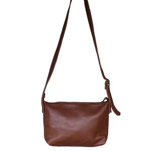 Charlotte cross body bag- Tan brown - Mandara bags