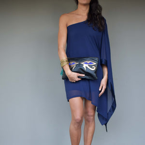 The Eye of Horus clutch - Mandara bags