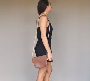 Chica cross body bag- brown - Mandara bags