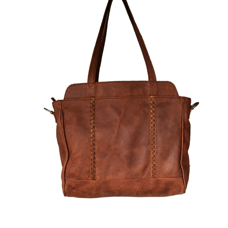 Fiona Business bag- butternut - Mandara bags