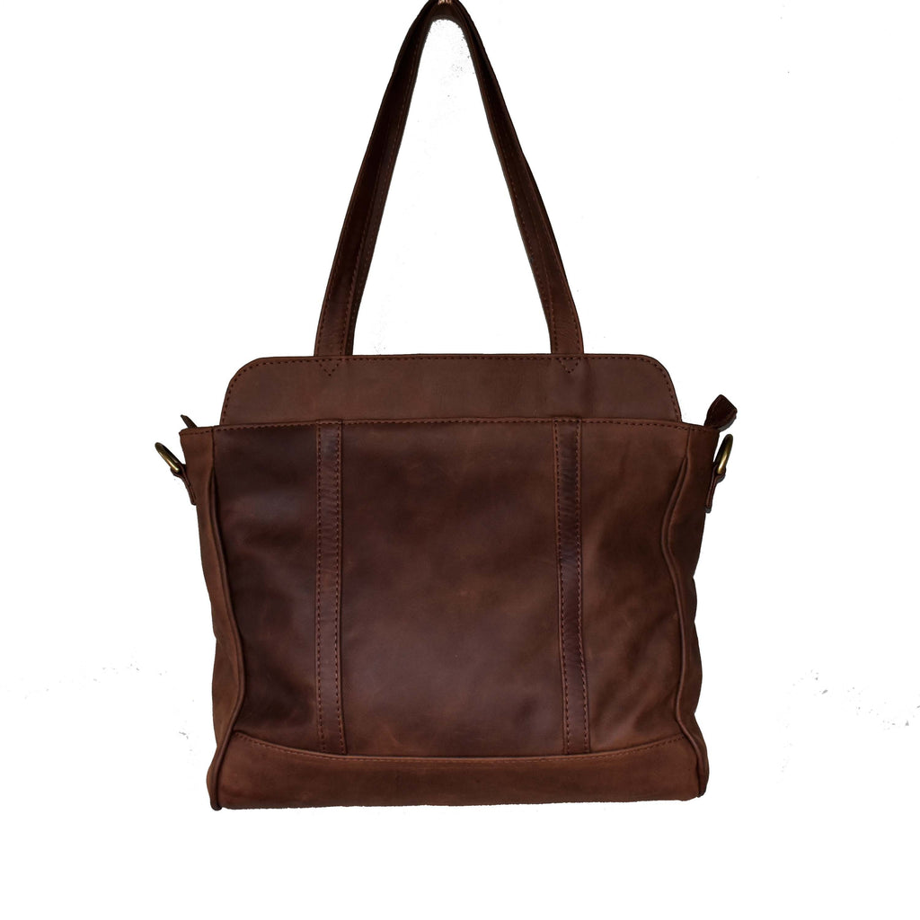 Luna Business bag- diesel brown - Mandara bags