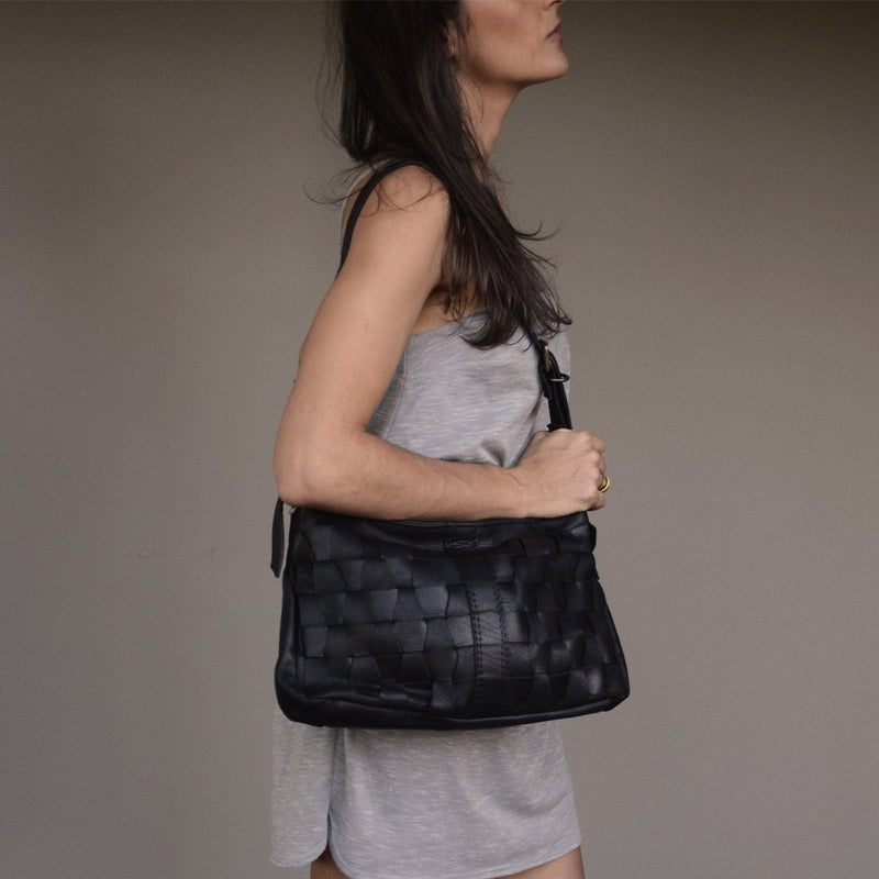 Bonnie Black medium - Mandara bags