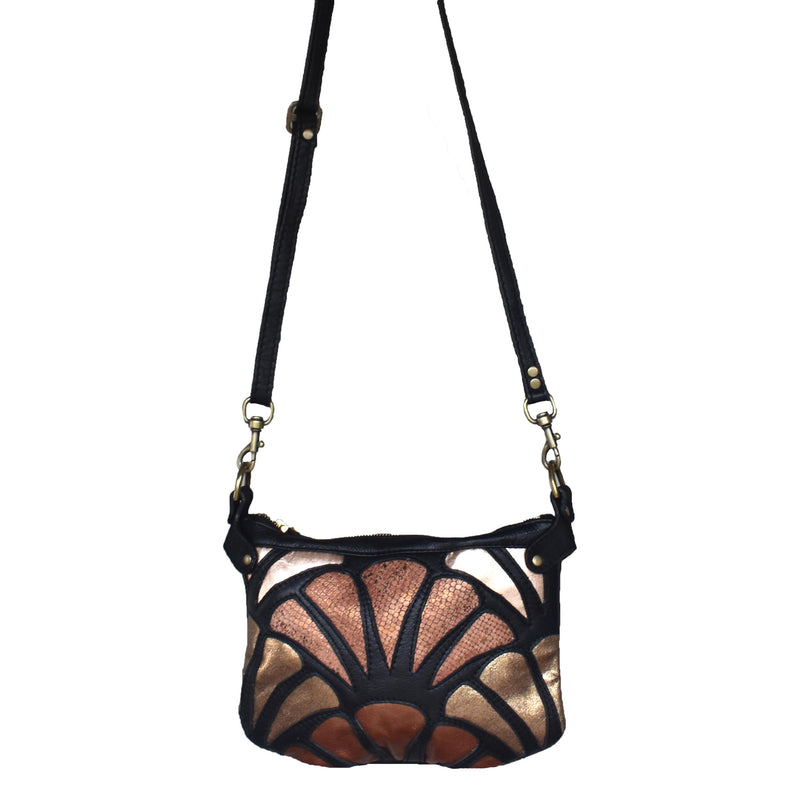 Atlantis cross-body bag- Burnished - Mandara bags