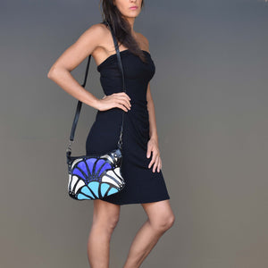 Atlantis cross-body bag- midnight - Mandara bags