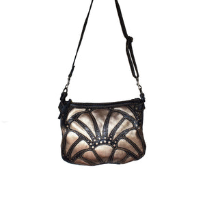Atlantis cross-body bag- Rose gold - Mandara bags