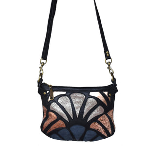large Atlantis cross-body bag- Shimmer - Mandara bags