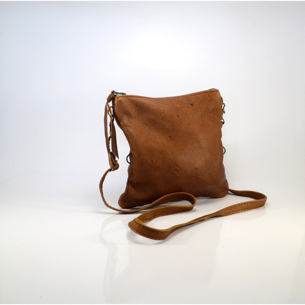 Mini fold over cross-body handbag - Mandara bags