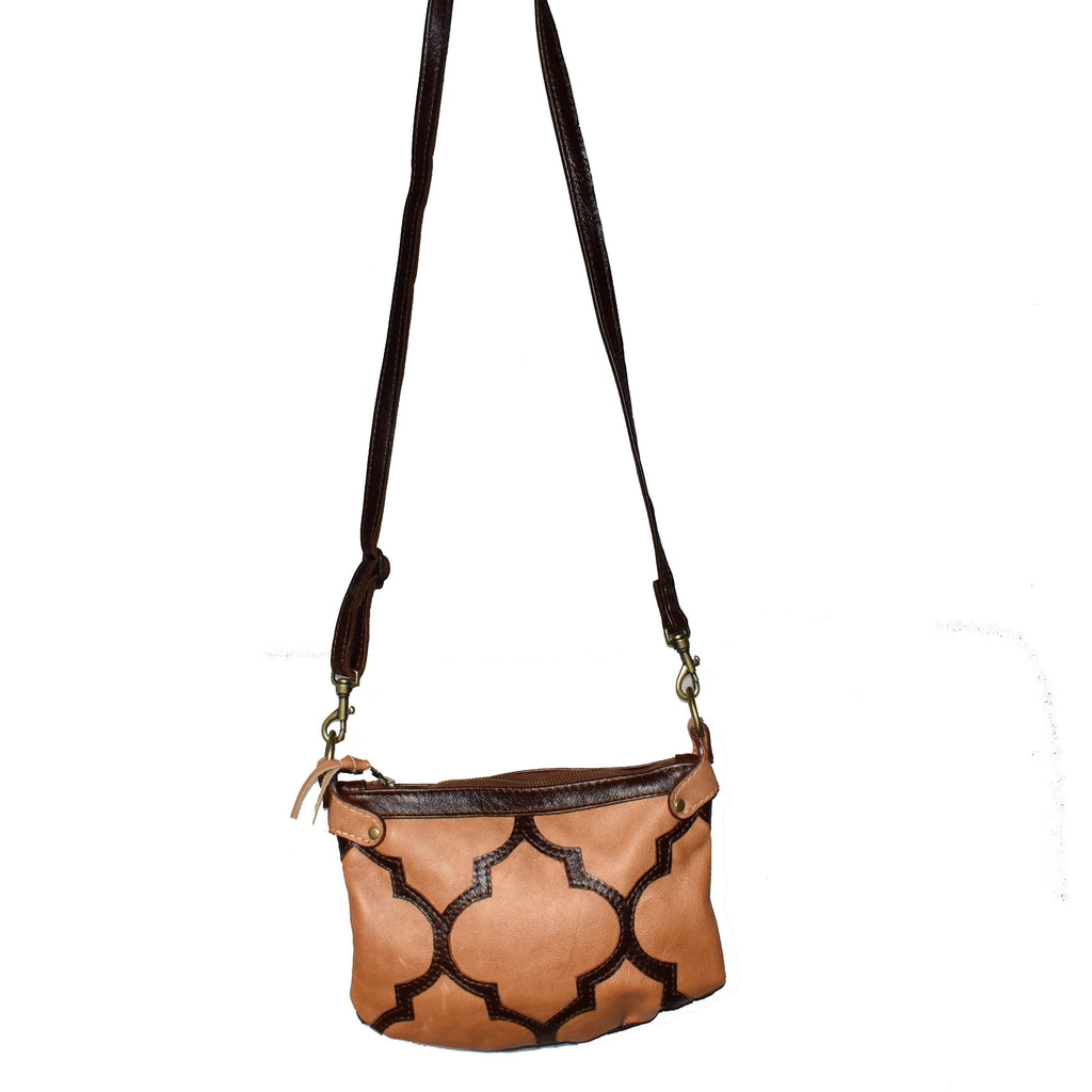 Casablanca cross-body bag- camel - Mandara bags