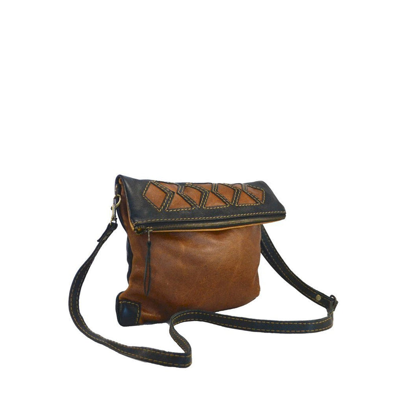 Geomeric clutch cross body handbag - Mandara bags