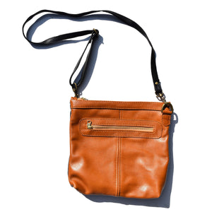 Jane - caramel and black - Mandara bags